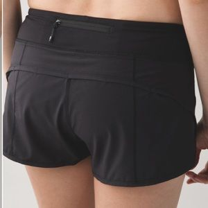 Lululemon speed shorts 4-way stretch